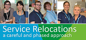 Service Relocations - a careful and phased approach