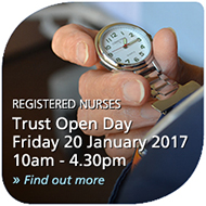 Nursing Recruitment Open Day - 20 January 2017 - find out more