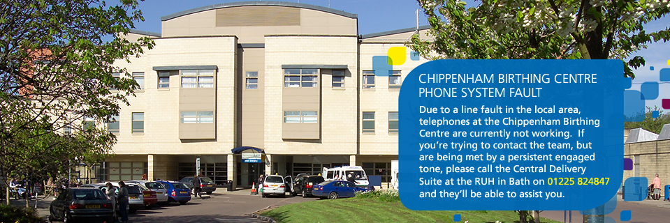 Chippenham Birthing Centre phone system fault